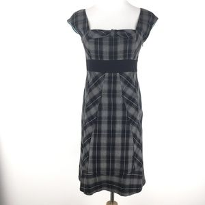 Anthro Moulinette Soeurs Size 4 Plaid Dress